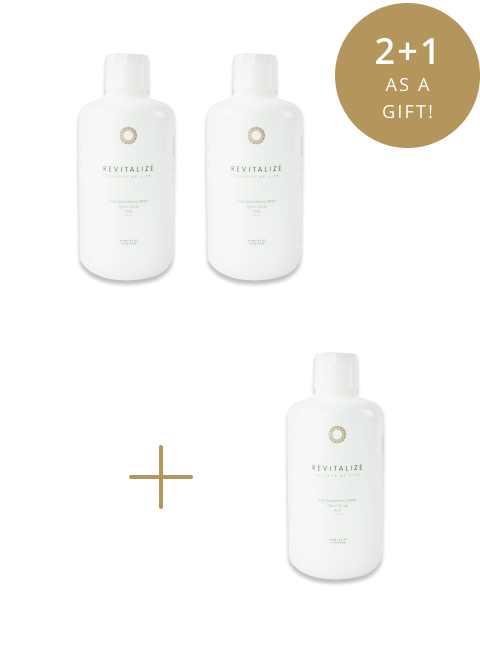 Summer refreshment: Revitalize 2+1 as a gift!