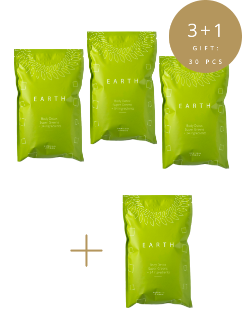 Earth – family package 3+1 FOR FREE